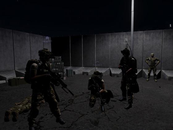 """SEAL Team Six bei der """"NATO-Pause""""."""