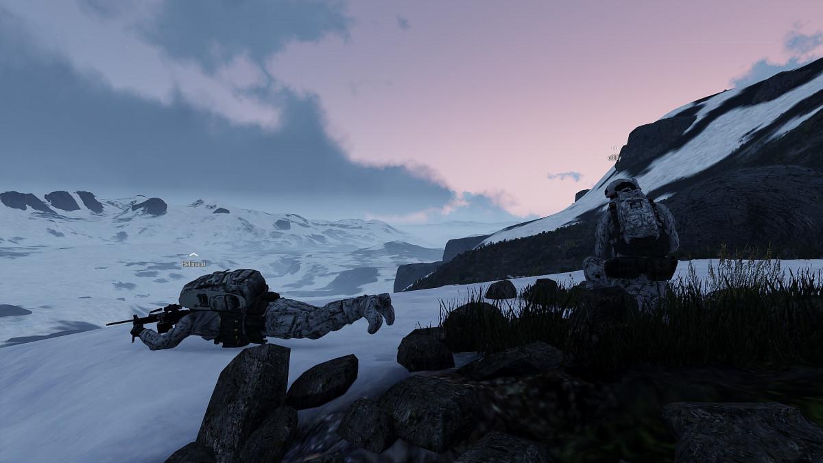 20.02.2021 | Operation Arctic Wolf | Nordsicherung mit den Jungs