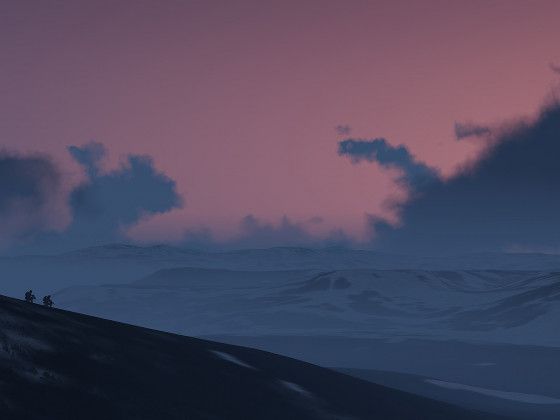 20.02.2021 | Operation Arctic Wolf | Sonnenaufgang nah des Polarkreises