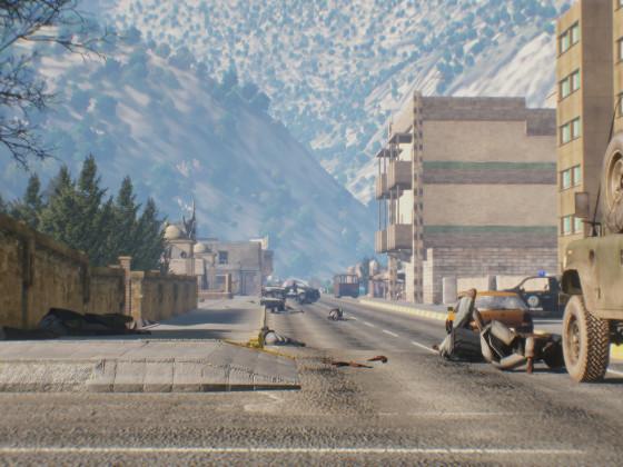 Straße der Zerstörung 2