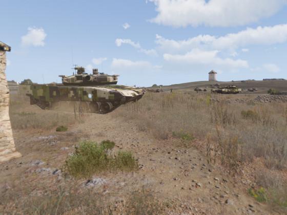 Ausbildung Panzertruppe