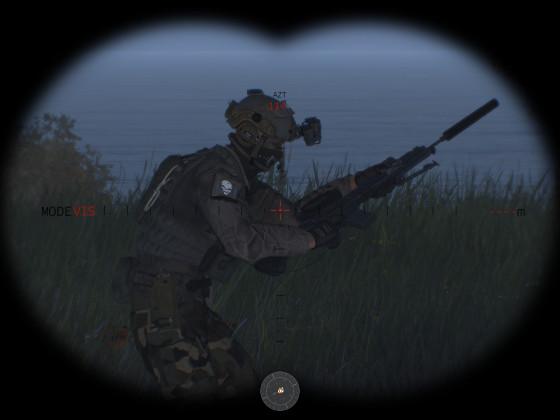 Special Forces:  Krasser DMR mit Thermalvisier