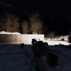 Einschüchterungstaktik mit Schnee und Eis