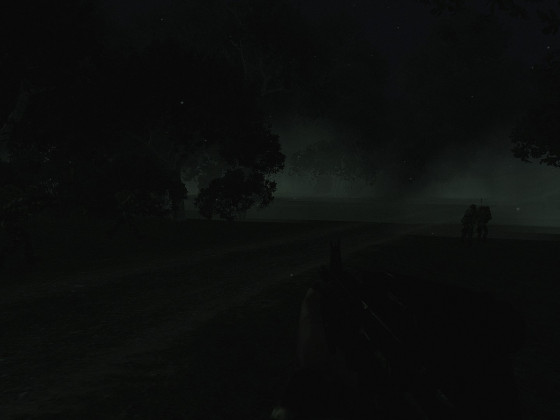 Patrouille wie in einem Horror-Film