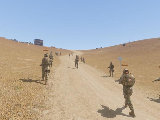 """""""Operation Dune Walker"""" (05.06.) - Vorrücken im Platoon"""
