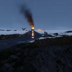 20.02.2021 | Operation Arctic Wolf | Vereiste Straßen, brennende Wagen