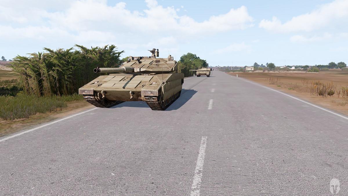 Tank Crew Ausbildung - In Kolonne
