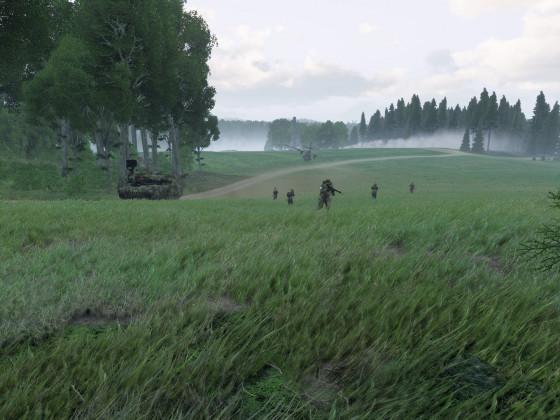 Operation Palatine Shield 15.08.2020 - Rückzug