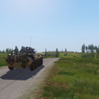 Spontane Mission 23.03.2021  Mechanisierte Russkis auf dem Weg