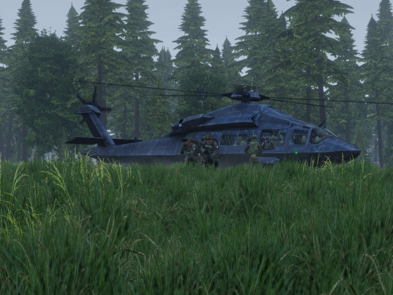 """Operation Timber Wolf"" - Geheimer Exfil"